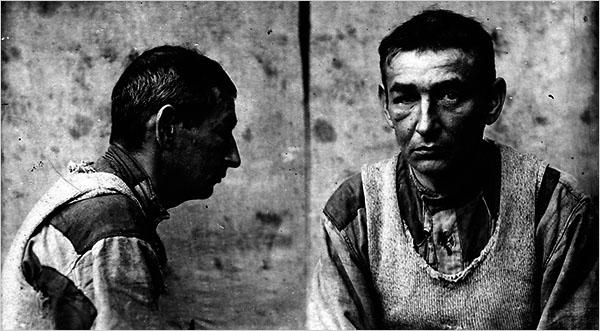 Sokatmondó felvétel egy Gulag-rabról, Isaac Ogginst nem sokkal később kivégezték Sztálin parancsára / Forrás: NYTimes.com