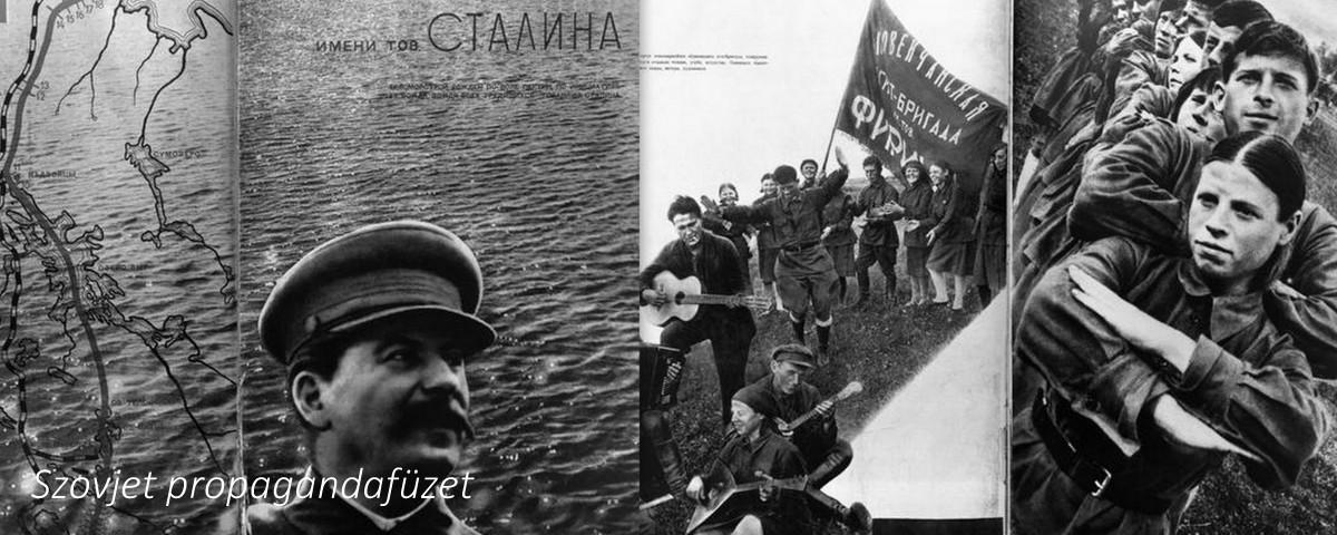 Propaganda a vidáman épülő új városokról /Forrás: Gulag.eu
